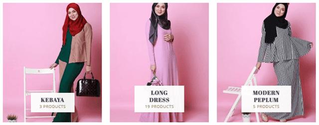 pakaian muslimah Lanafira