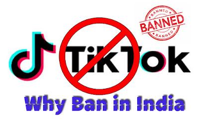 Why-Tik-Tok-ban-in-India, Tik-Tok-Ban, Tik-Tok-Banned