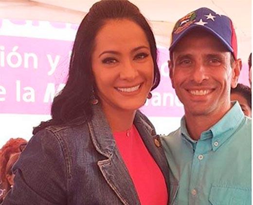"""Norkys Batista se confiesa enamorada de Capriles: """"Que no me pare, es otra cosa"""" (+Video)"""