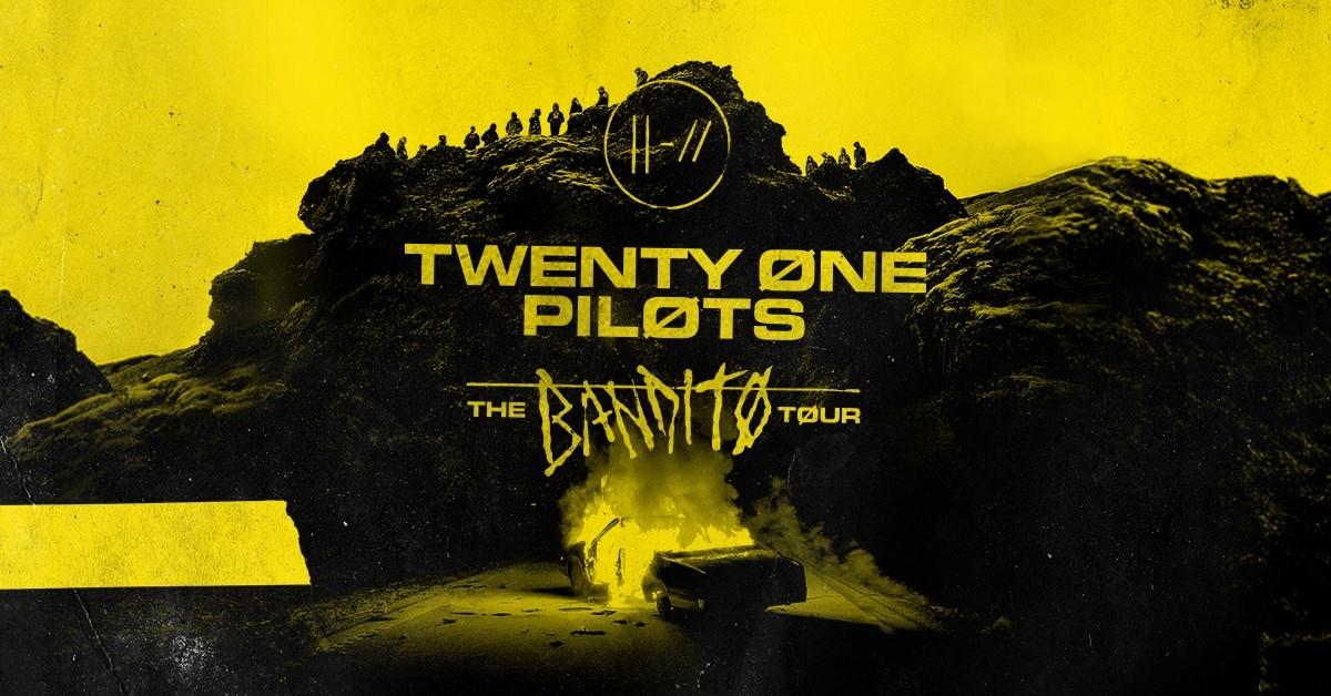 "Twenty One Pilots Announce Second Leg of Global Headline ""Bandito Tour"""