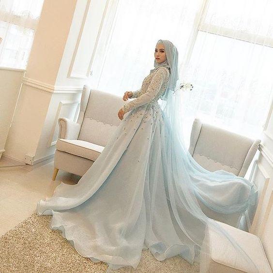 12df169c12 10 Desain Gaun Pengantin dengan Hijab - Desain Gaun Pengantin
