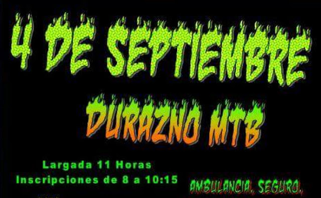 MTB - The Locos MTB en Durazno (04/sep/2016)