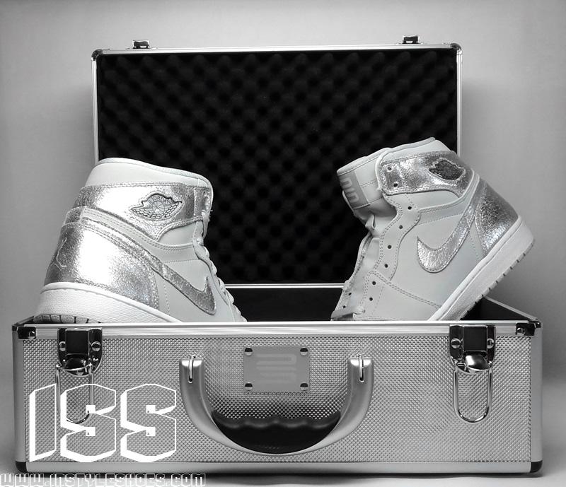 best cheap cb913 19c29 Nike Air Jordan 1 I Retro High 25th Silver Anniversary 2010 396009-001