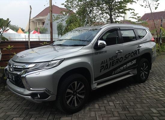 Test Drive mobil Pajero Sport Surabaya
