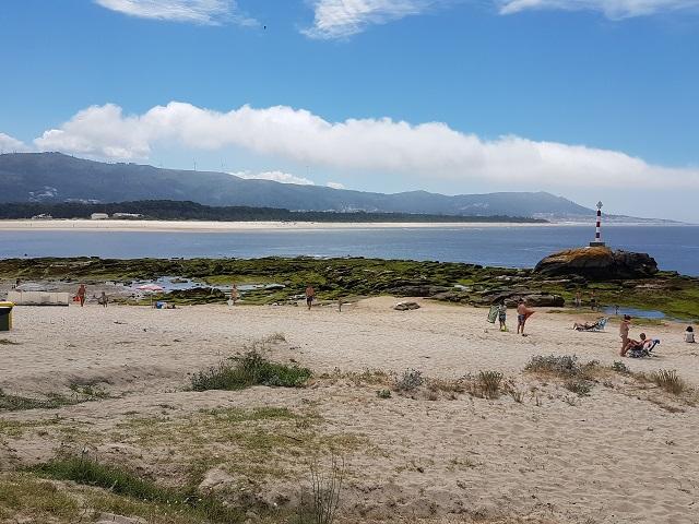 Playas de O Muiño y Lamiña en A Guarda