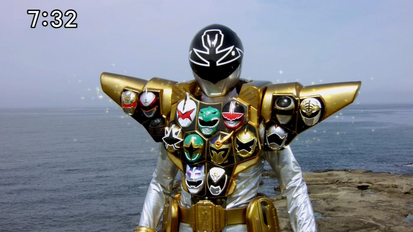 The Power Is On: Super Megaforce Silver Gold Mode