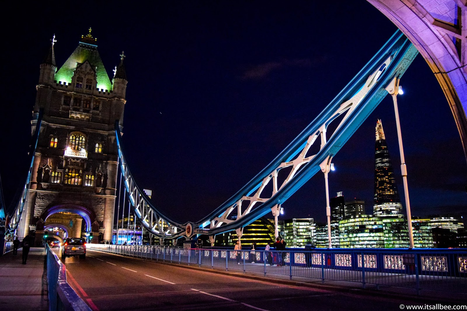 London Tower Bridge At Night