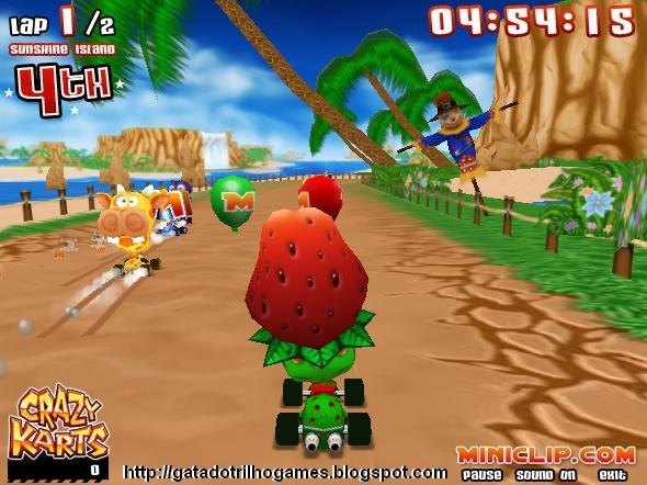 Jogar Jogo Infantil de Kart online gratis ~ Jogos da polly ...