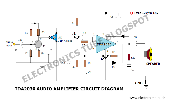 50+50 Watt Hi-Fi Power Amplifier Circuit with PCB Assembly