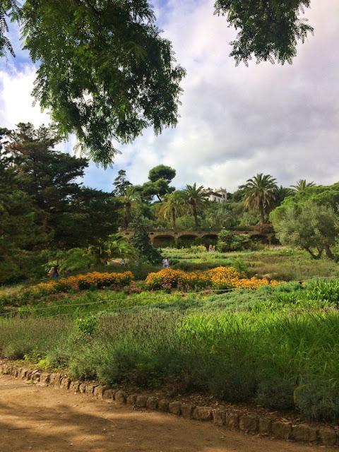 Park Guell w Barcelonie, dzieło Antonio Gaudi