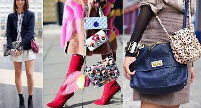 doppia borsa,tendenza moda donna