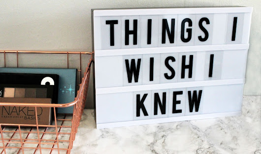 Things I Wish I Knew When I Started Blogging