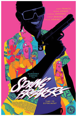 MondoCon 2017 Exclusive Spring Breakers Movie Poster Screen Print by Cameron Stewart x Mondo