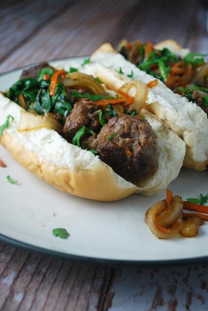 Sweet Skillet Bahn Mi Sandwich - easy weeknight meal