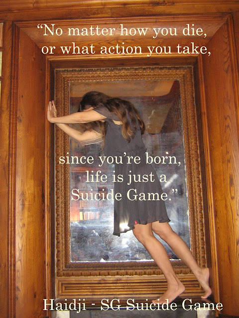 Suicide Game - Book Quote - SG Suicide Game by Haidji
