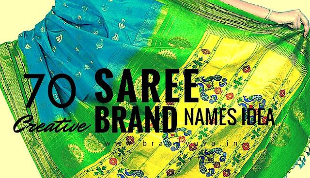 saree brand names idea