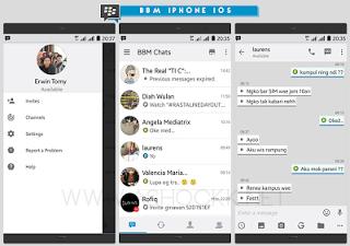 BBM MOD White Ios V3.0.0.18 Apk