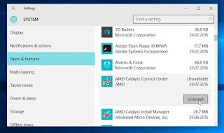 pasos a seguir para desinstalar las aplicaciones en windows 10