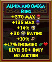 Wizard101 Aquila Best Ring Gladiator Drop