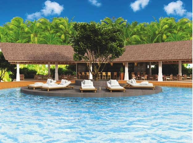 Hondaafushi Island Resort, Pool Area