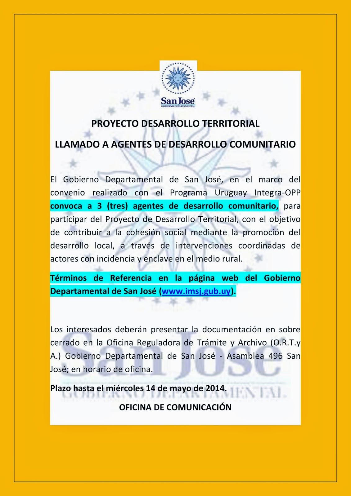Agencia de Desarrollo y Descentralización Ciudad del Plata: Ciudad ...