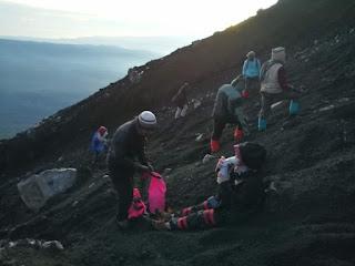 Resiko Yang Sering di Alami Seorang Pendaki Gunung