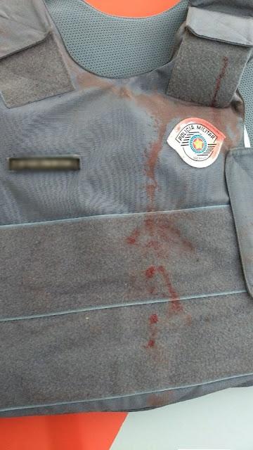 POLICIAL MILITAR SOFRE AGRESSÕES AO PRENDER CRIMINOSO EM ELDORADO