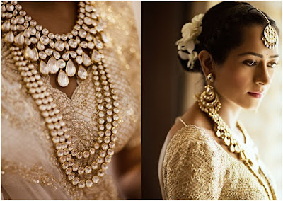 Kresha Bajaj with her statement jewelry