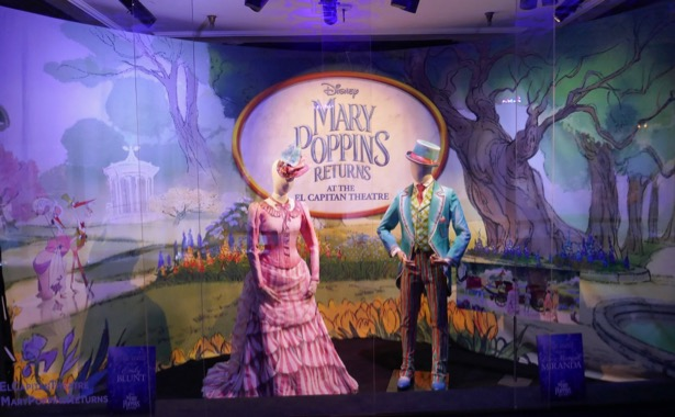 Mary Poppins Returns Royal Doulton Bowl costume exhibit