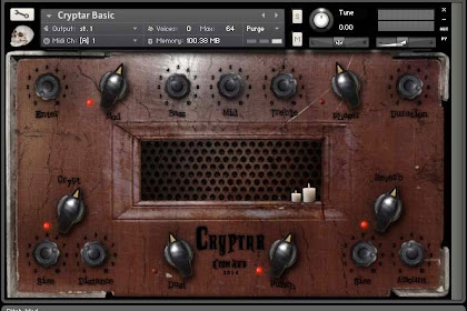 Acoustic Guitar Sample Library gratis - Cryptar dari Atom Hub