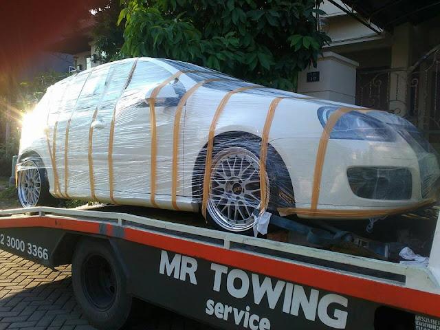 MR Derek Surabaya Kirim Mobil ke Malang