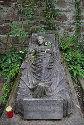 Grab auf dem Alten Friedhof in Freiburg