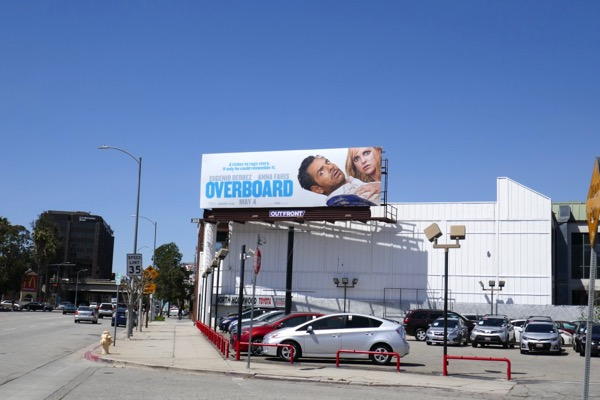 Overboard movie billboard