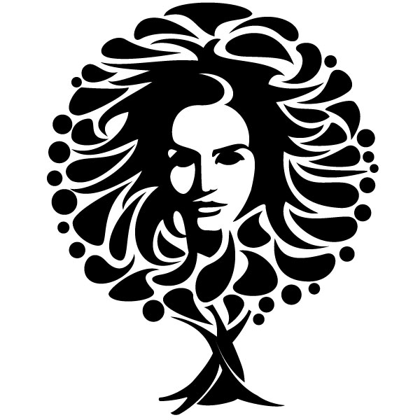 vector face abstract clip female tree vectorportal faces woman lizard deviantart dart processes pixel materials throwing ankh