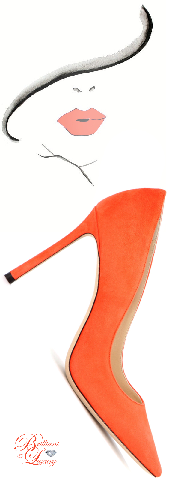 Brilliant Luxury ♦ Jimmy Choo Romy Suede Pumps