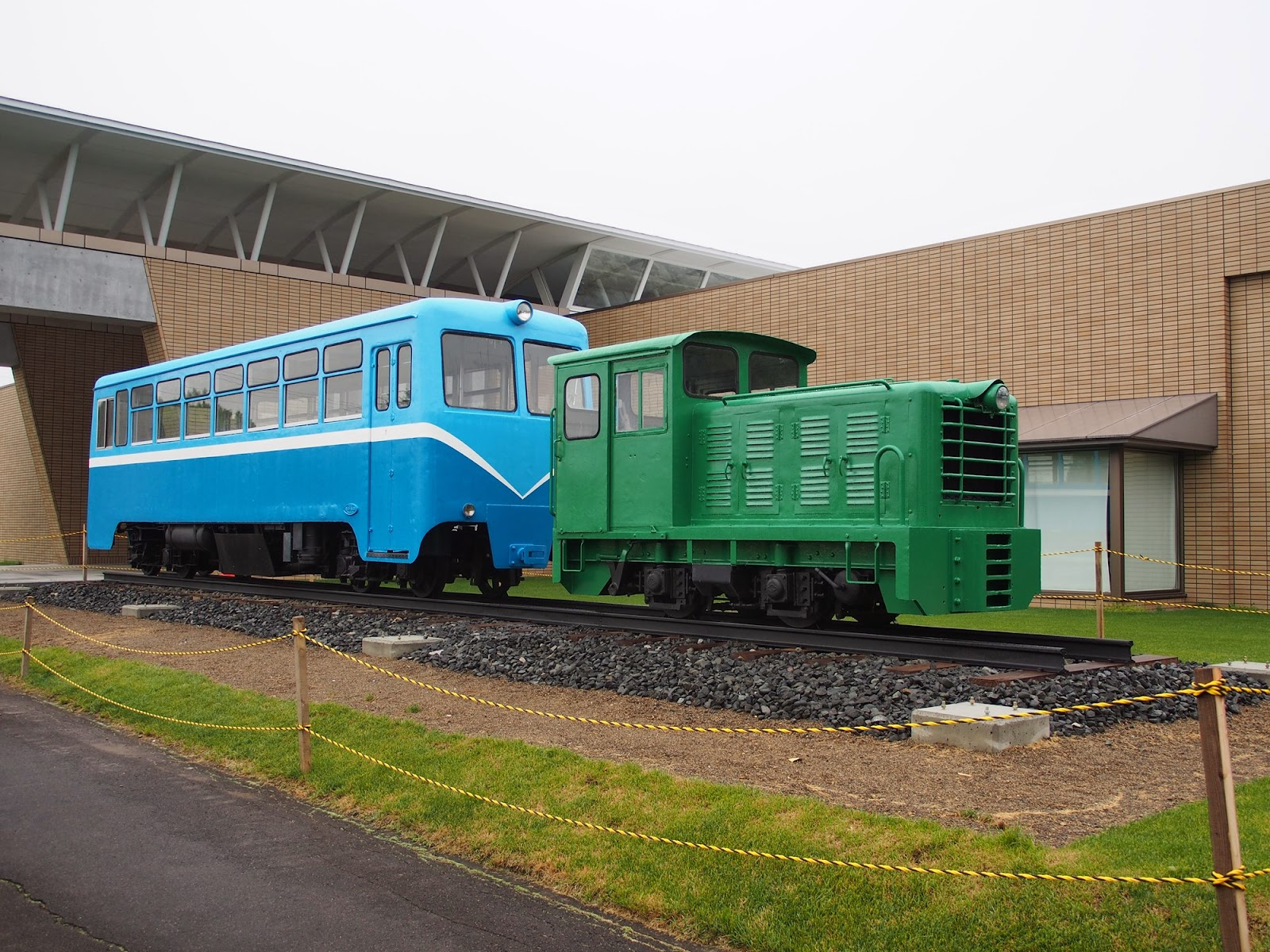 泰和製ディーゼル機関車 鶴居村 簡易軌道 ふるさと情報館みなくる