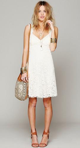 venta profesional Tener cuidado de seleccione para auténtico Vestidos blancos la mejor opción para el verano - MODA Y ...