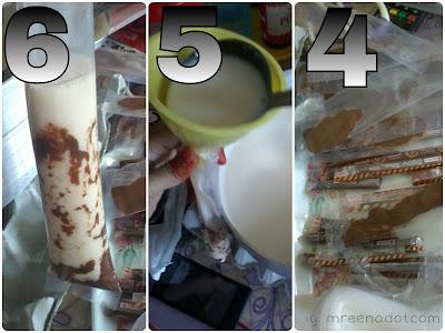 Cara Isi Choki Choki Dalam Plastik Aiskrim