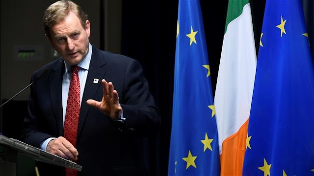 Ireland's Prime Minister Enda Kenny warns UK Prime Minister Theresa May on her DUP deal, suggesting it could endanger peace
