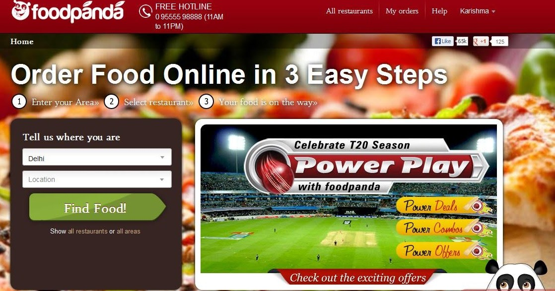 Online Food Delivery Websites In Karachi
