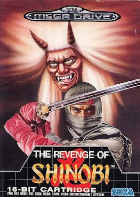 Rom de The Revenge of Shinobi - Mega Drive - PT-BR