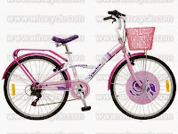 City Bike Wimcycle Mini Cruiser Electra 6 Speed 24 Inci