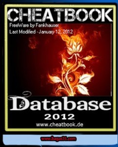 CheatBook DataBase 2012 Free Download Full Version