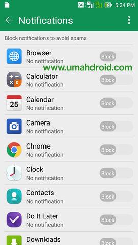 Cara Block Notifikasi di Android dan Tablet