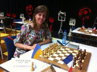 La grand-maître ukrainienne Tatiana Kostiuk © Chess & Strategy