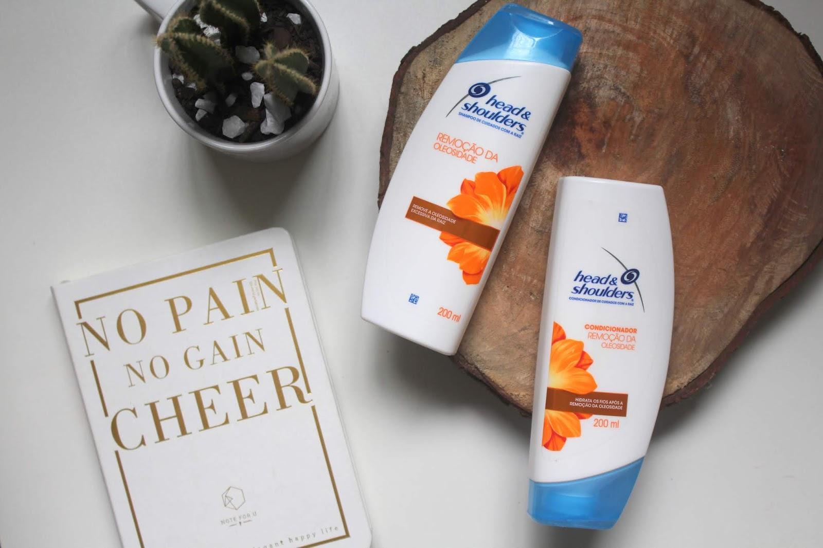 Resenha Head & Shoulders Linha Remoção da Oleosidade Ana do dia anadodia ana soares testes shampoo condicionador tratamento capilar