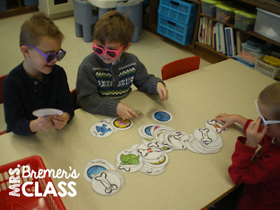 Literacy centers for Kindergarten