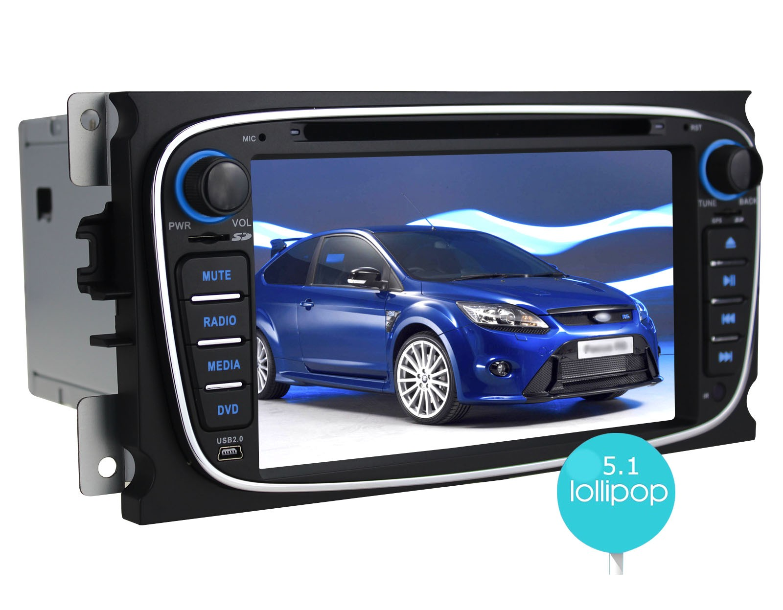 JOYING Best Plug And Play Ford Focus Android 5.1.1