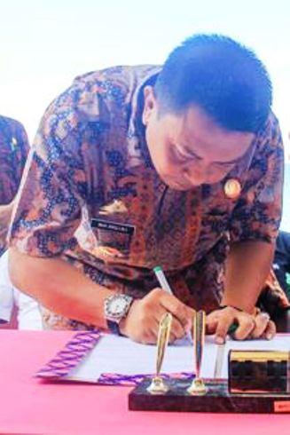 Basli : Saya Tetapkan Untuk Usulkan Pak Marjani, Jadi Sekda ,Selayar