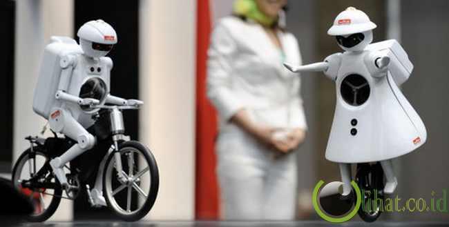Robot Sepeda Tandem